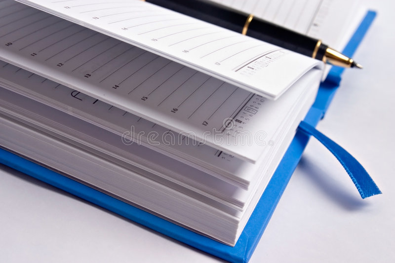 Planner royalty free stock photography