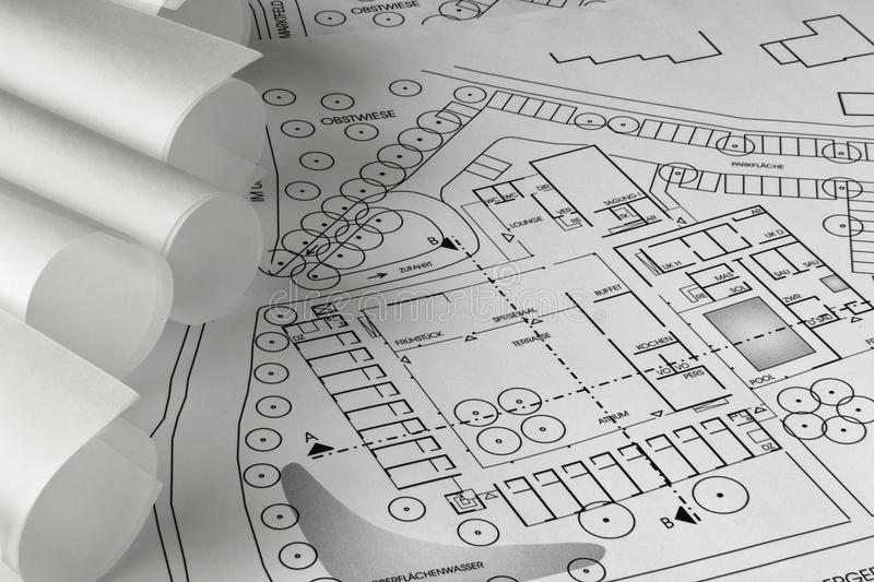 Planning stock fotografie
