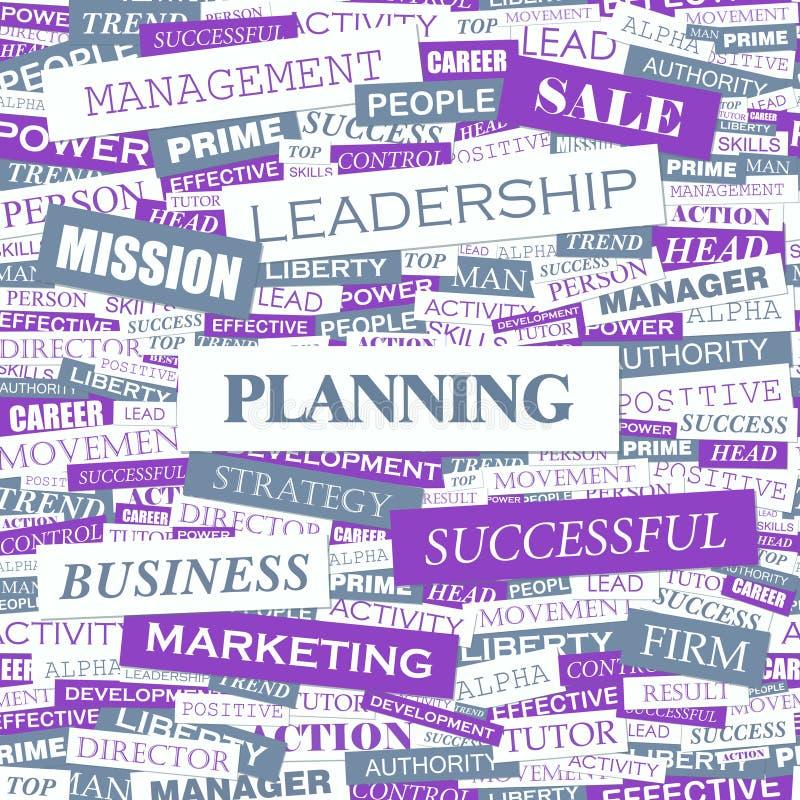 Download PLANNING stock vector. Illustration of keywords, idea - 34692148