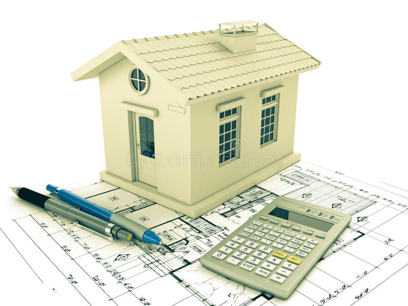 Download Planning home stock illustration. Image of estate, architecture - 25562013
