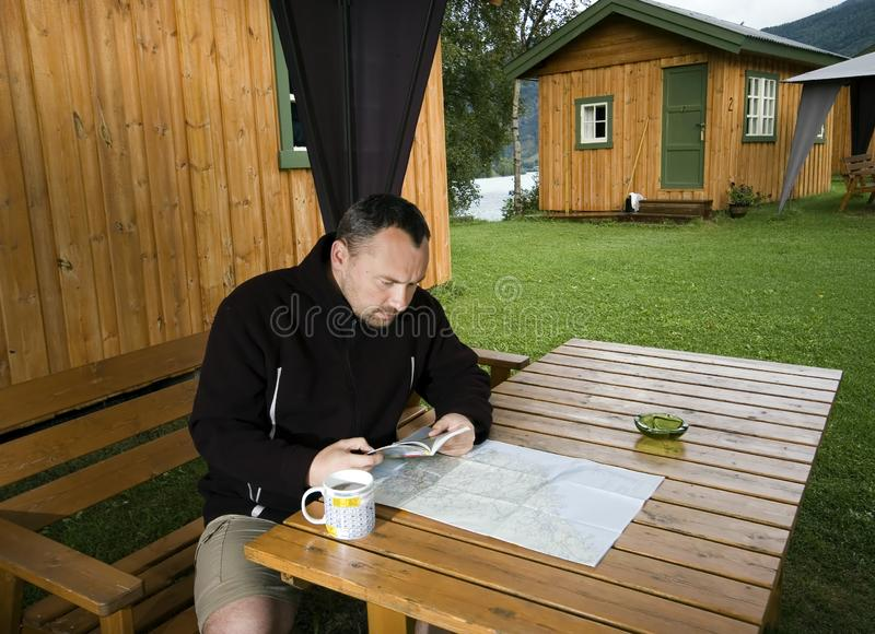 Download Planning next route. stock image. Image of grass, norway - 3001071