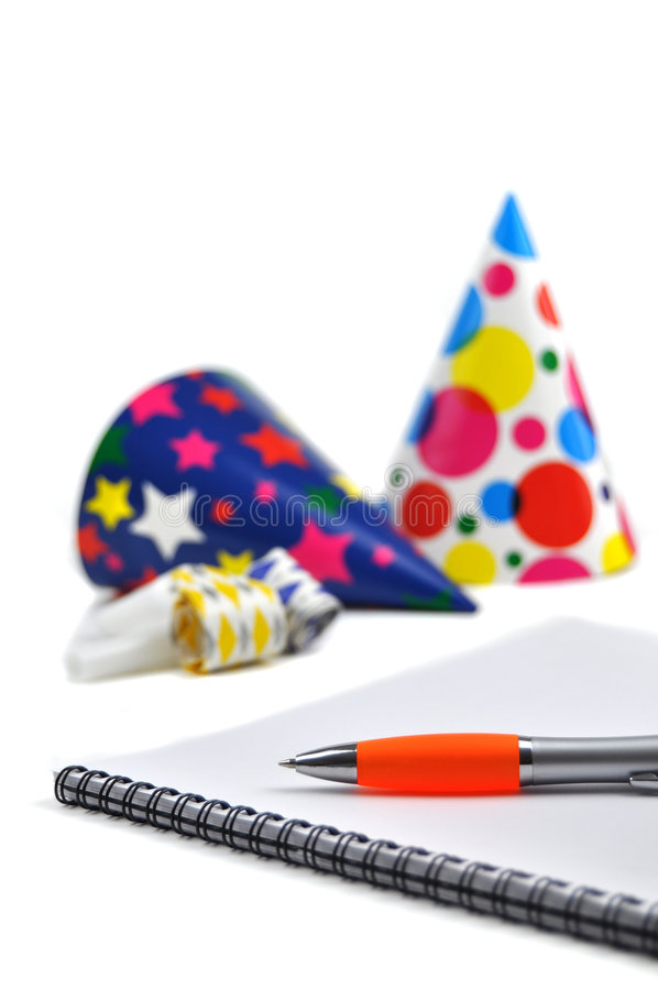 Download Planning A Party Stock Image - Image: 8318881