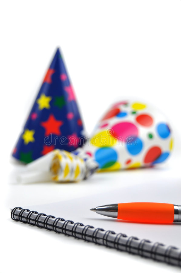 Download Planning a Party stock photo. Image of surprise, paper - 8319026