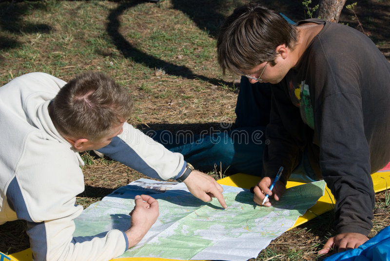 Download Planning path stock photo. Image of reading, active, recreational - 7017564