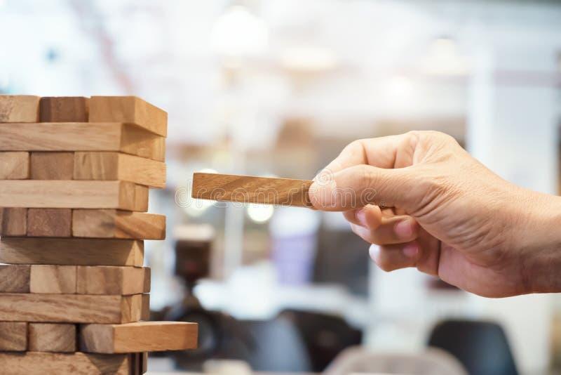 Planning, risico en strategie in zaken stock afbeelding