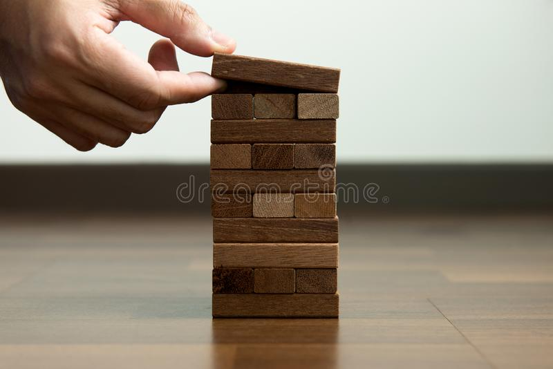 Planning, risk and strategy in business stock image