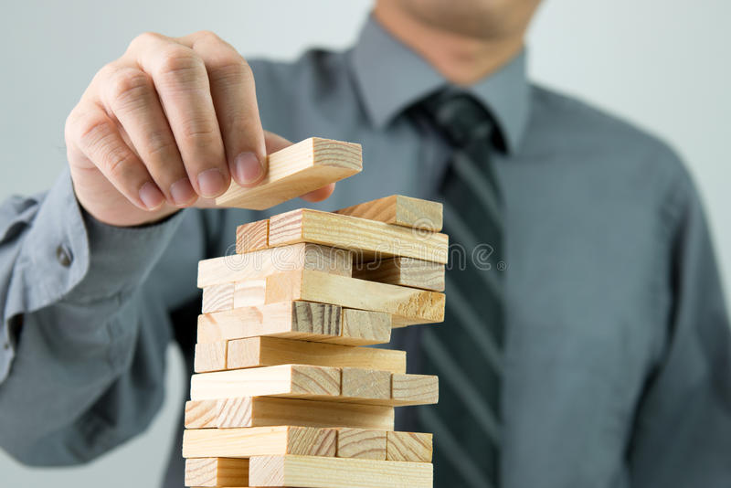Planning, strategy or investing in business concept royalty free stock image