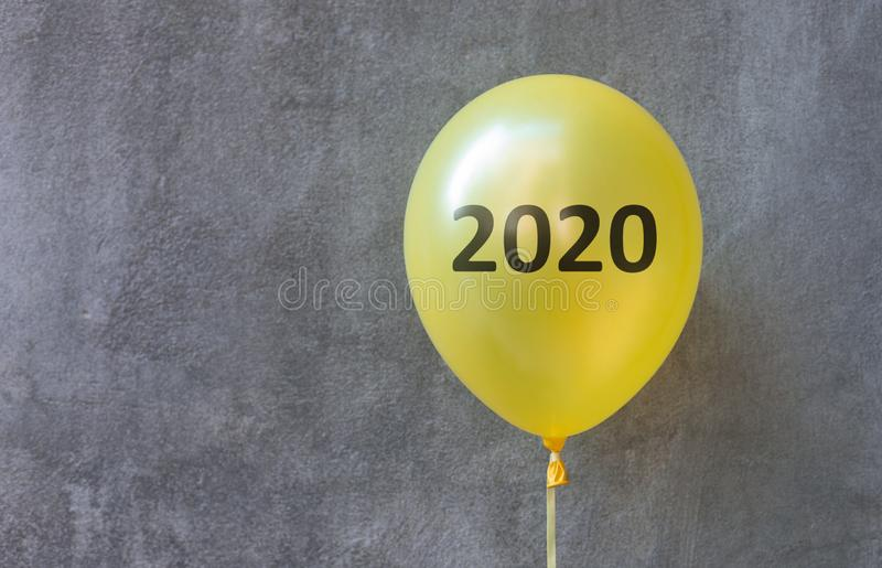 Planning to open new business in 2020 year stock photo