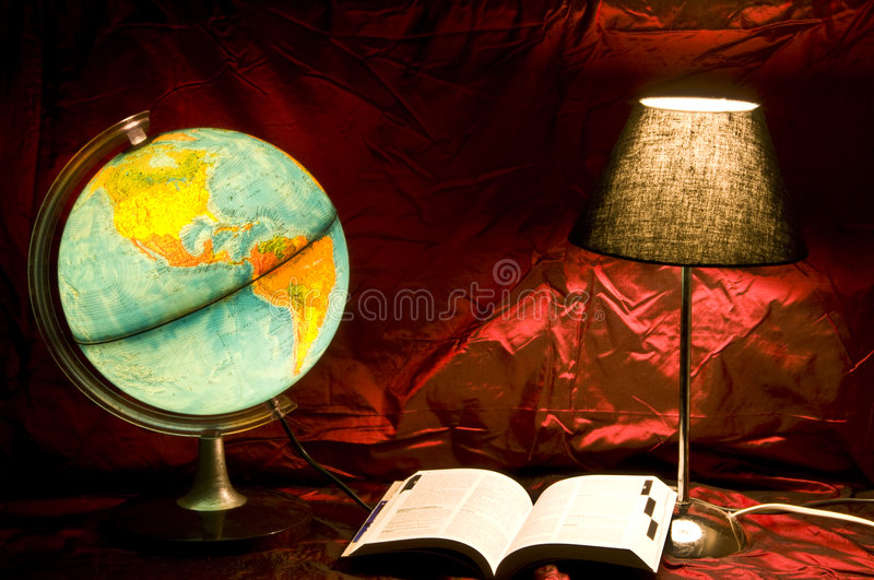 Download Planning travel stock image. Image of galaxy, golden, globe - 8926167