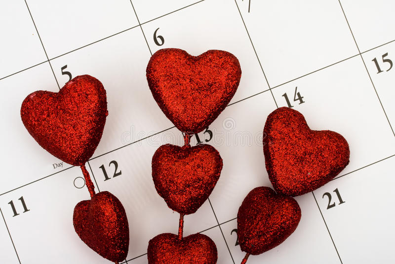 Planning voor Liefde royalty-vrije stock foto