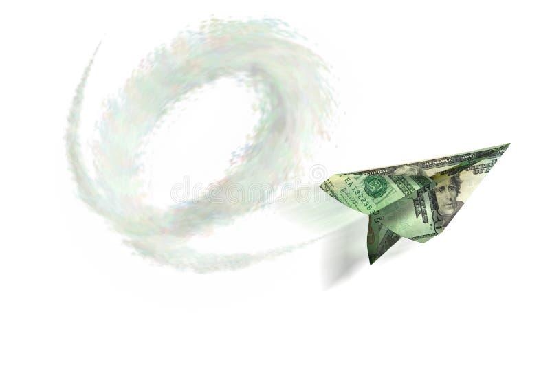 Plano 3 do dinheiro de papel fotos de stock