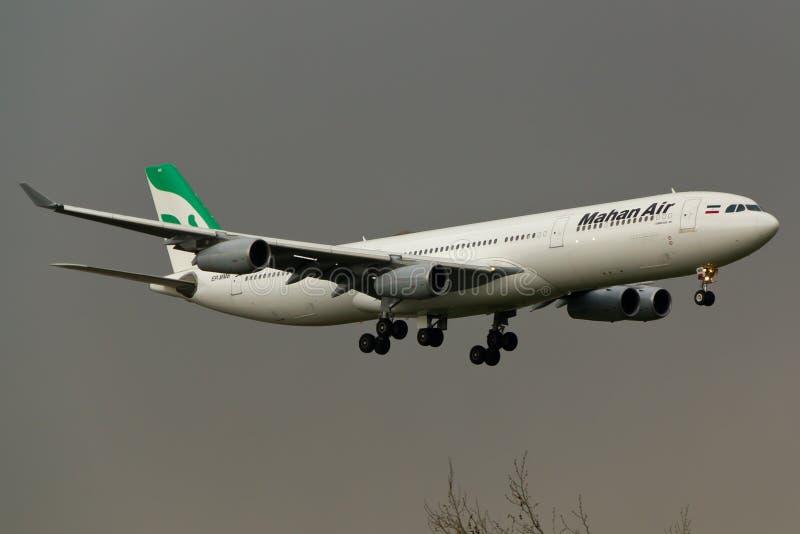 Plano de Airbus A340 fotos de stock