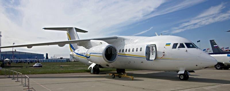 Plano de Antonov 158 imágenes de archivo libres de regalías