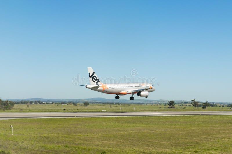 Plano de aterrissagem foto de stock royalty free