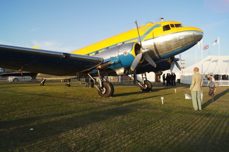 Plano de Douglas DC3 fotografia de stock