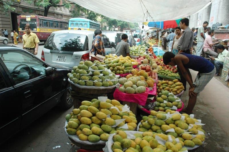 Plano de negócios para frutas e produtos hortícolas na Índia fotos de stock