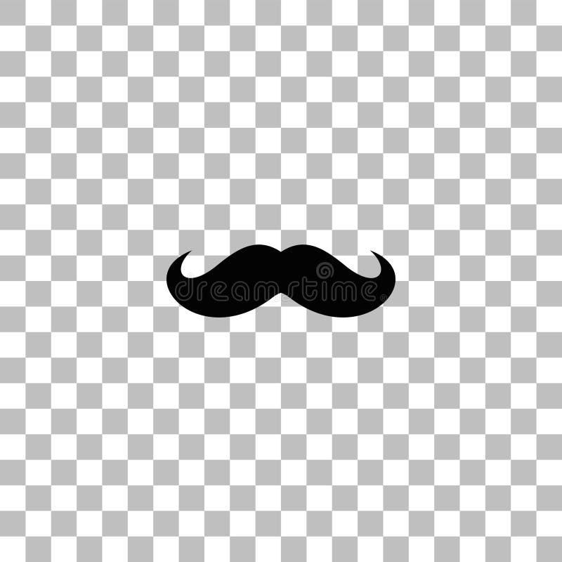 Plano del icono de las barbas libre illustration