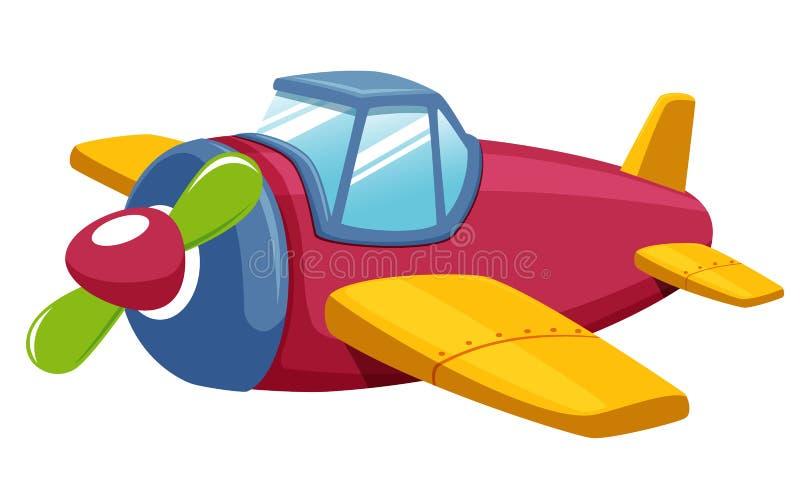 Plano del juguete ilustración del vector
