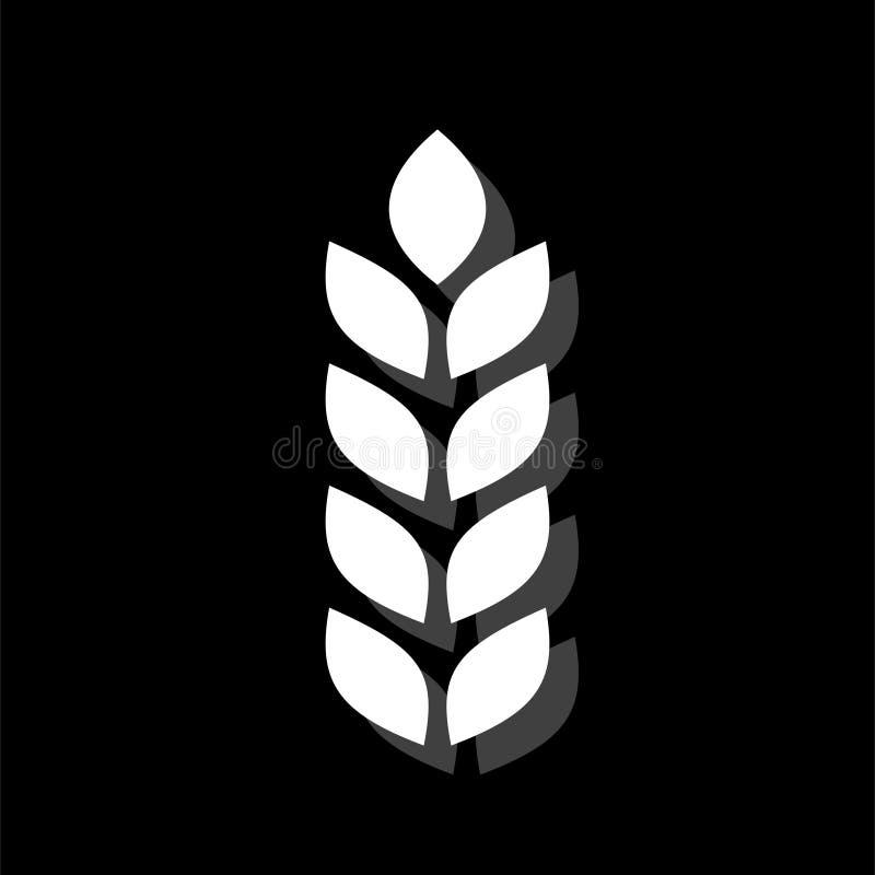Plano do ícone da agricultura ilustração stock