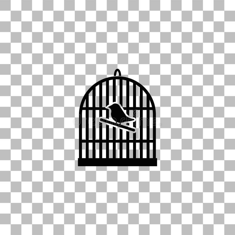 Plano do ?cone do Birdcage ilustração do vetor