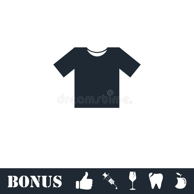 Plano do ?cone do Tshirt ilustração do vetor