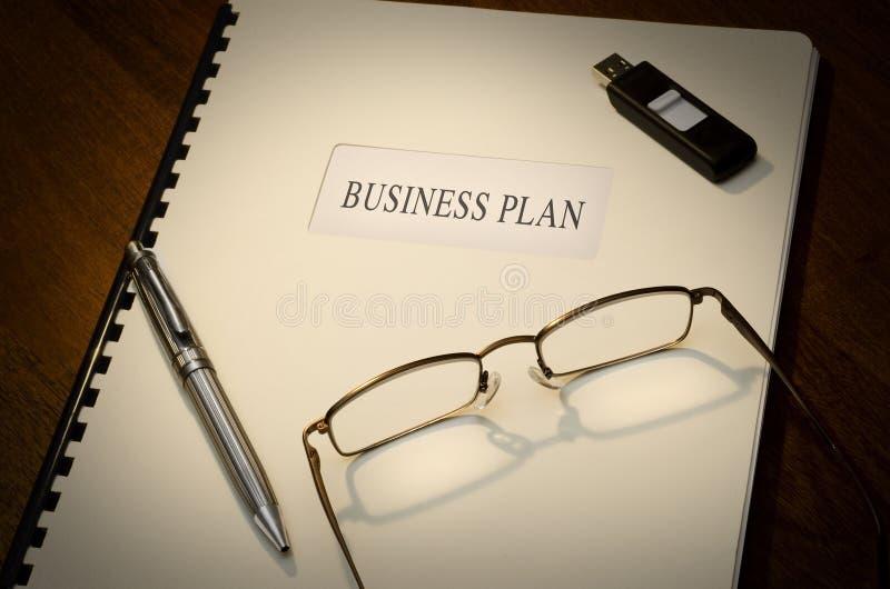 Plano empresarial foto de stock