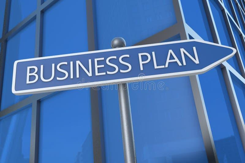 Plano empresarial fotografia de stock royalty free