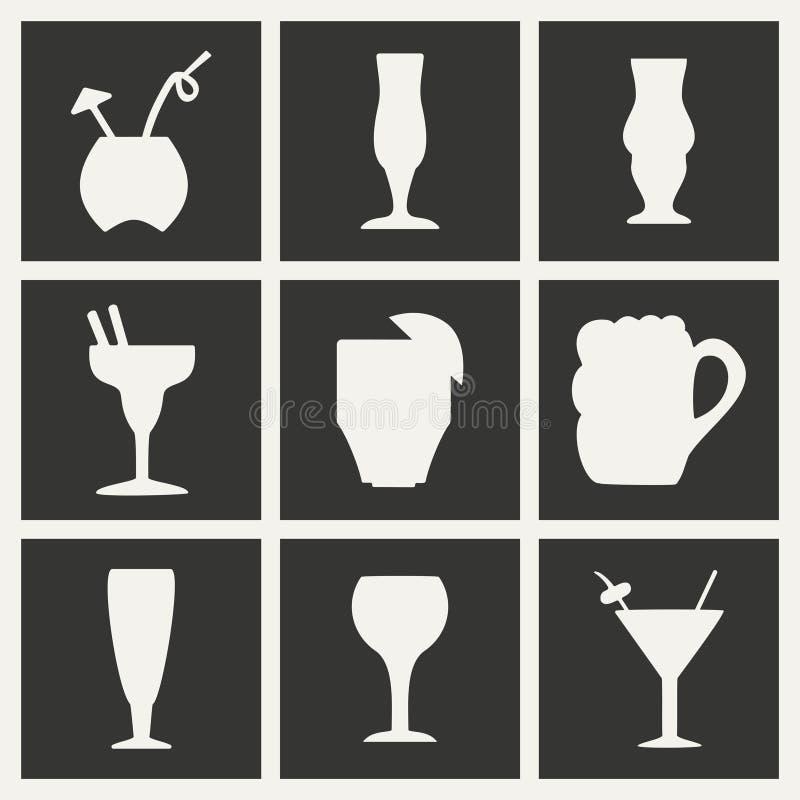 Plano en la aplicación móvil blanco y negro del concepto libre illustration