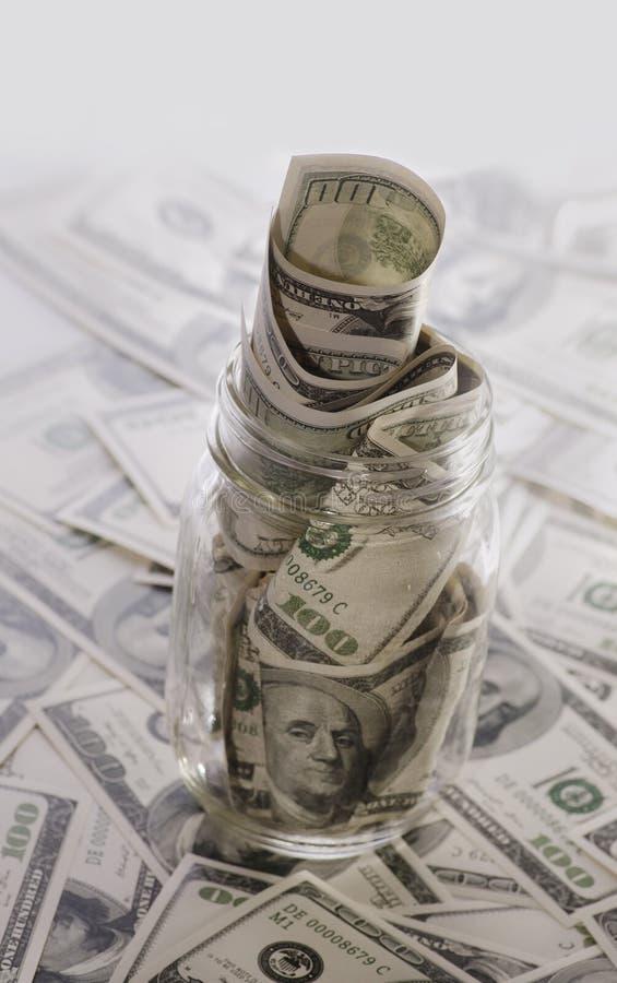 Plano financeiro para salvar o dinheiro da aposentadoria fotografia de stock royalty free