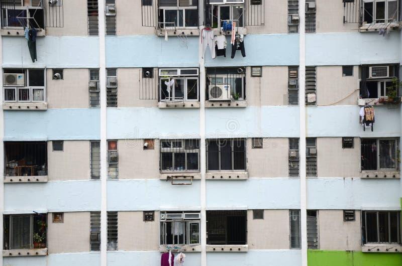 Planos aglomerados em Hong Kong foto de stock royalty free