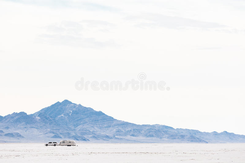 Planos de sal de Bonneville fotos de stock royalty free