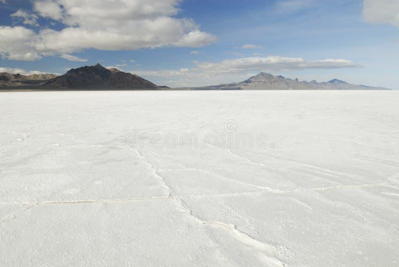 Planos de sal de Bonneville, Utá fotos de stock royalty free