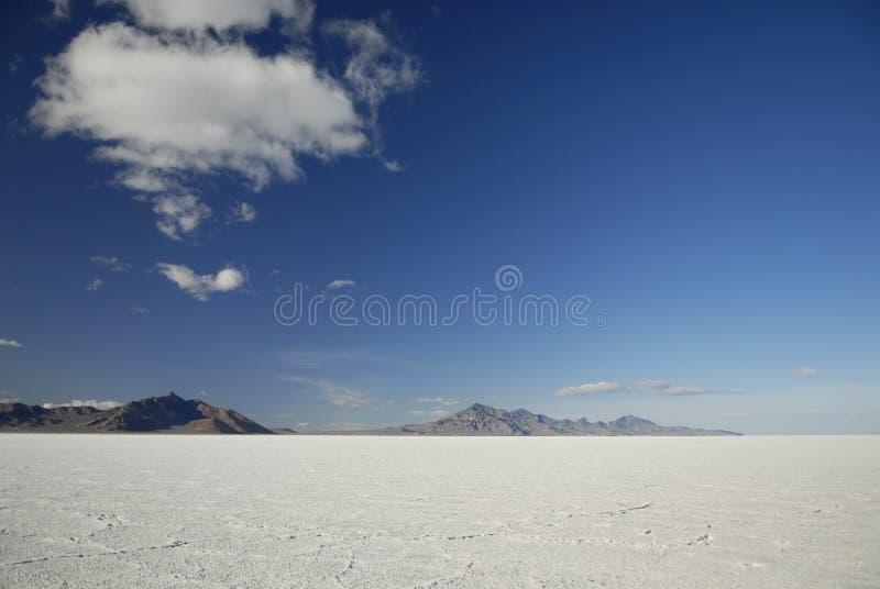 Planos de sal de Bonneville, Utá foto de stock