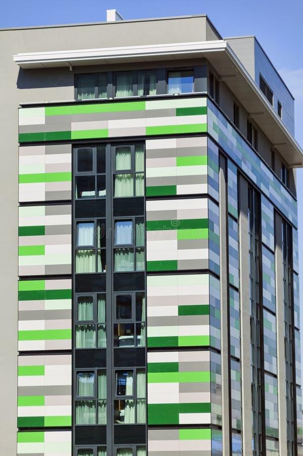 Planos del apartamento del bloque de torre imagenes de archivo