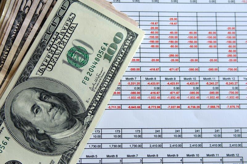 planowanie finansowe zdjęcie stock