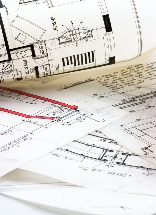 Download Plans stock photo. Image of printout, improvement, background - 12981748