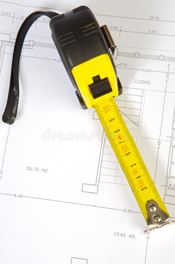 Download Plans stock photo. Image of home, drawing, construction - 1724458