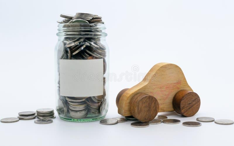 Plans de l'épargne pour la voiture, concept financier photo libre de droits