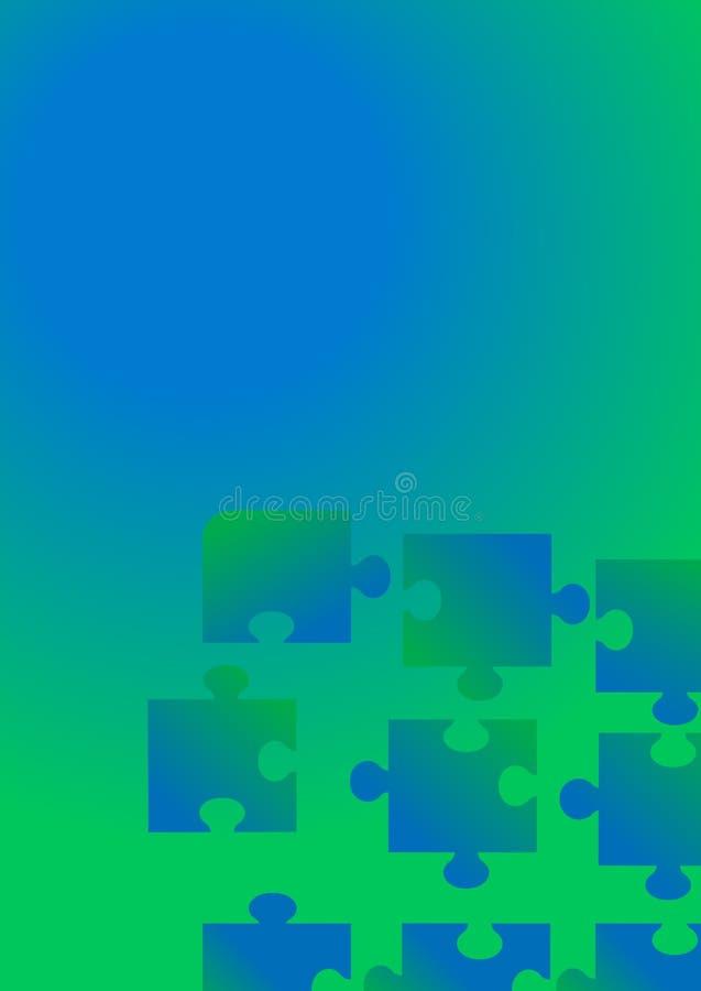 Plant bakgrundspussel för begreppsdesign teknologi f?r planet f?r telefon f?r jord f?r bin?r kod f?r bakgrund vektor illustrationer