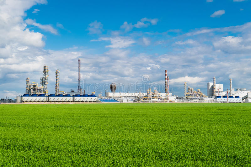 Download Plant Fertilizer On A Green Meadow Stock Image - Image of metal, ecology: 95382655