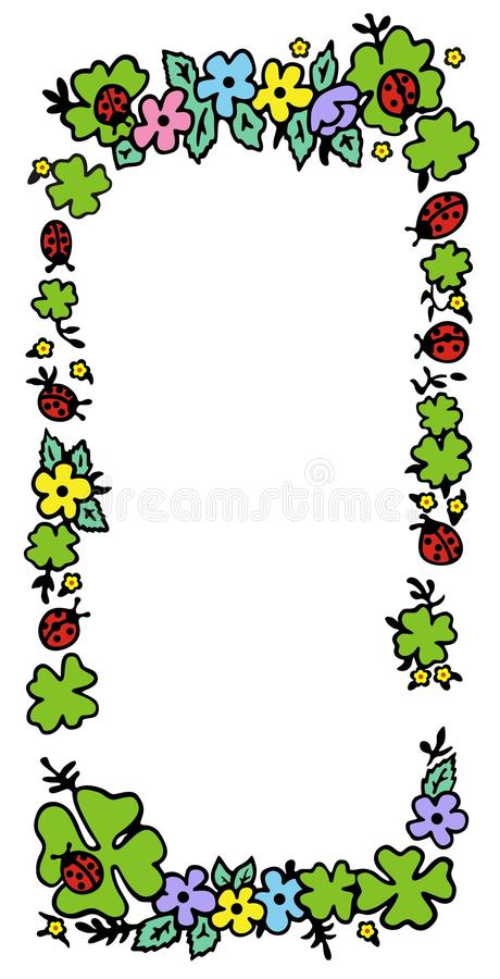 Download Plant frame stock vector. Image of photo, border, graphic - 13020085