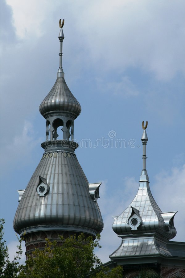 Plant Hall spires