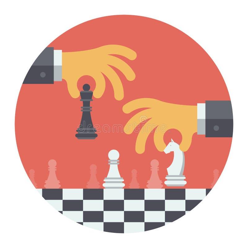 Plant illustrationbegrepp för strategi royaltyfri illustrationer