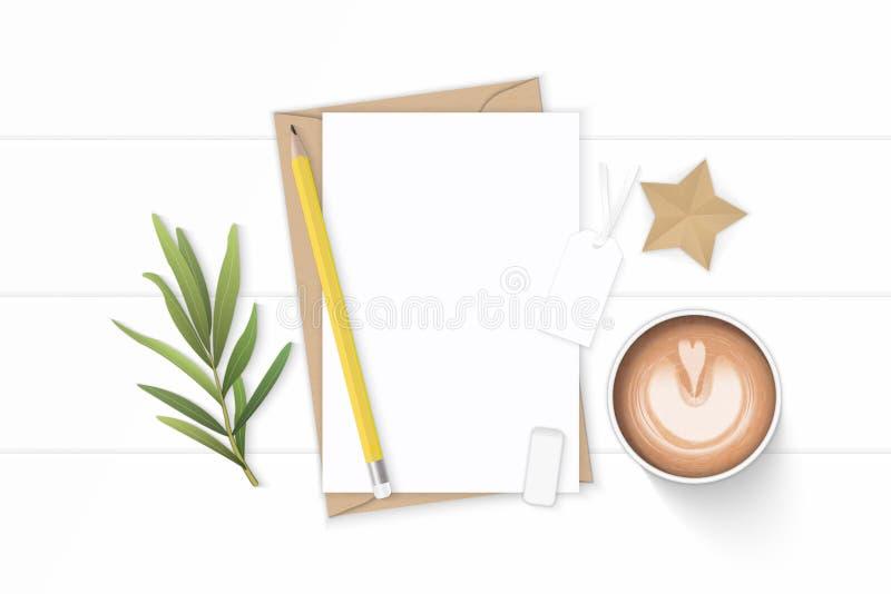 Plant lekmanna- för sammansättningsbokstav för bästa sikt elegant vitt för kraft blad och radergummi för dragon för etikett för h vektor illustrationer