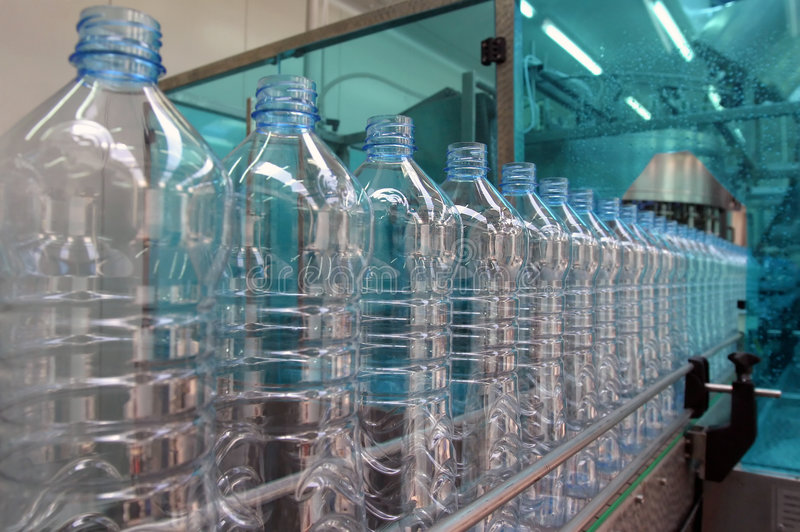 Download Plant for mineral water stock image. Image of container - 9298241