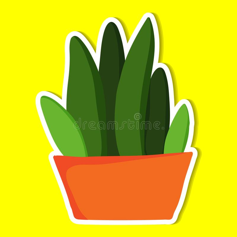Plant of simple. Color illustrations vector illustration