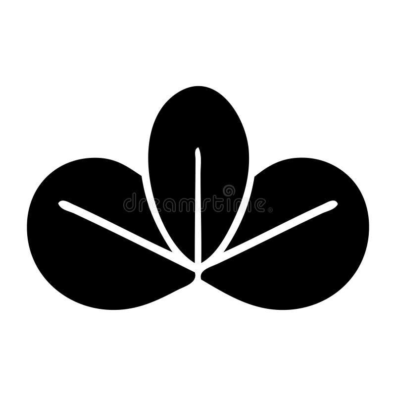 plant symbolh?stblad stock illustrationer