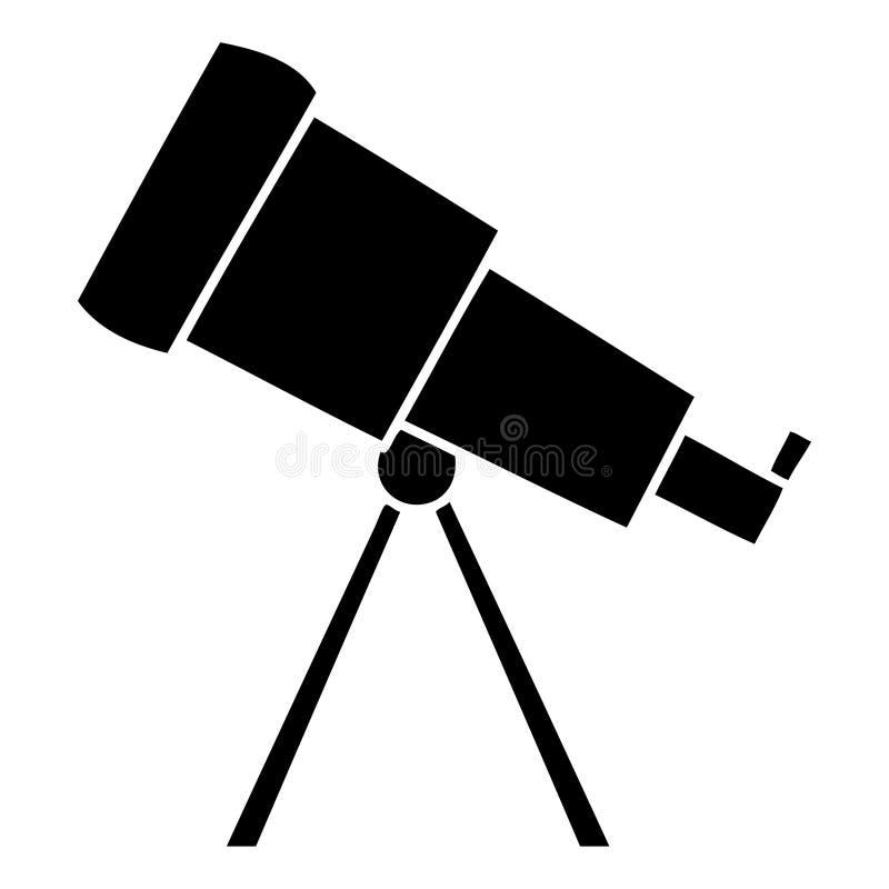 plant symbolteleskop stock illustrationer