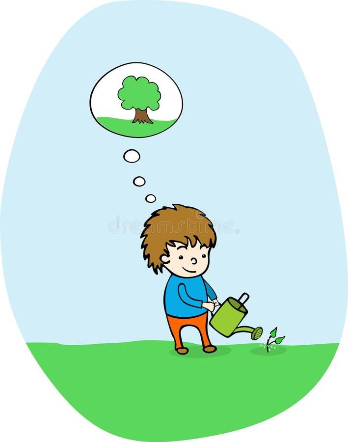 Plant A Tree! Royalty Free Stock Photo
