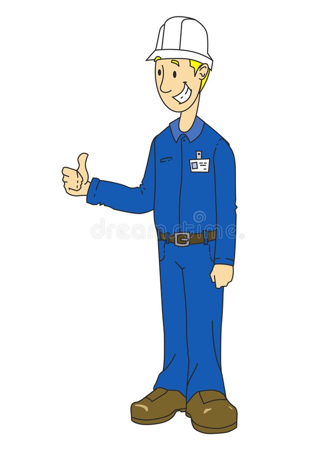 Plant Worker Graphic vector illustration